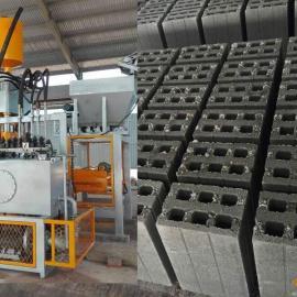 万安400吨尾矿压砖机虎鼎小型砖机质量有保障虎鼎全自动压砖机