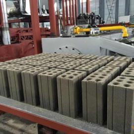 万载建筑垃圾压砖机虎鼎透水砖机质量好虎鼎全自动压砖机