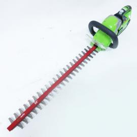 40V充电式绿篱机 电动修剪机 锂电双刀篱笆剪 双刃绿篱剪 采茶机