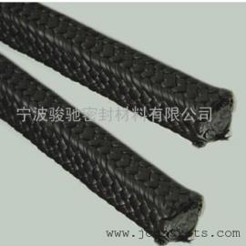 碳素纤维盘根 骏驰出品耐高温镍丝增强碳素纤维盘根