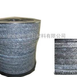 碳纤维盘根 骏驰出品超高温1000度镍丝增强碳纤维盘根