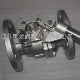 TQ41F-25P/R/RL弹簧自动复位法兰球阀