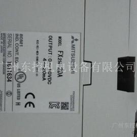 三菱FX2N-2DA摸�M量模�K