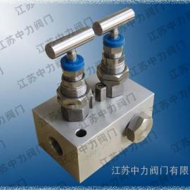 316L高压焊接集成阀组100MPa