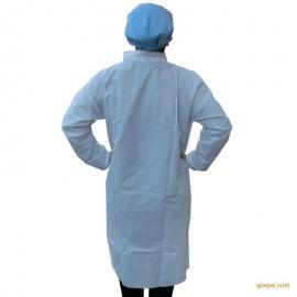 一次性加厚白大褂 医疗卫生防感染白大褂