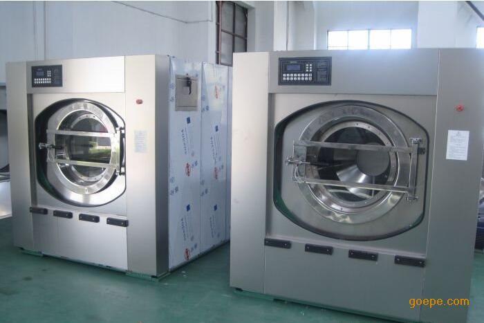 节能大型酒店宾馆洗衣房设备,宾馆洗衣房专用100公斤洗衣机
