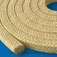 黄芳纶盘根 骏驰出品耐磨进口杜邦芳纶纤维盘根