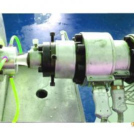 小型塑料管材机组/实验室管材机组---广告