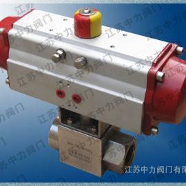 Q911N高压电动内螺纹球阀