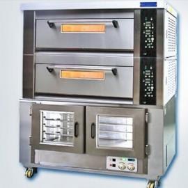 新麦烤箱SM-802T+SM-15F 二层六盘烤箱连醒发箱