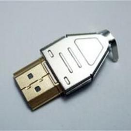 HDMI公头连接器19P三件套焊线式插头镀金