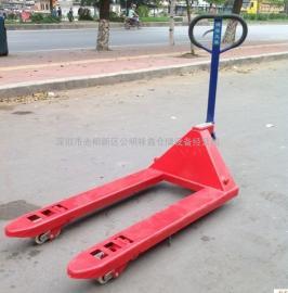 5吨手动叉车,鸿福叉车