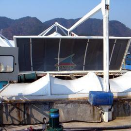 大yang化工厂污水池加�qian�chu,污水chu理,反吊膜结构