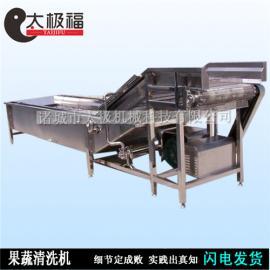 秋梨清洗机太极机械*生产销售大型果蔬清洗机苹果清洗机