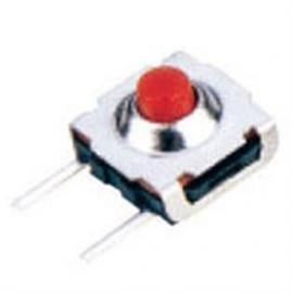7*7防水轻触开关(横二插脚-竖两插脚)红头按钮