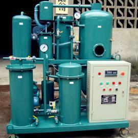 热处理油除酸脱水真空滤油机,压铸机油破乳化处理