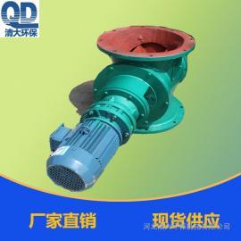 圆形法兰星型卸料器除尘器专用星型卸料器YJD-B型
