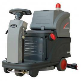 克力威X80 大型驾驶式清洗机 保洁洗地吸水机