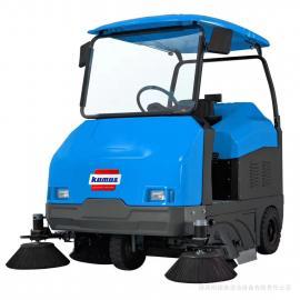 强力电动扫地车 吸力强的电瓶式扫地车清扫车