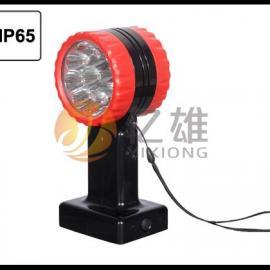 磁力吸附双面信号灯 施工防护红闪灯 铁路用红色防护灯