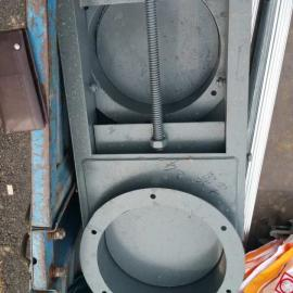 碳钢shou动插板阀 方形、圆形gui格齐全 shou动启动插板阀