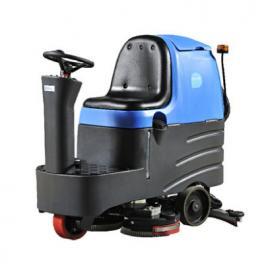 驾驶式洗地机 环氧地胶清洗机容恩R125BT70大型清洗机
