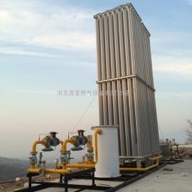 百亚LNG气化调压撬 沥青拌合站气化器 空温式气化器