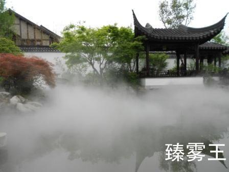 喷雾景观-人造雾设备-喷雾降温