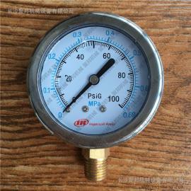 『纯正配件』供应21982343英格索兰径向耐震甘油压力表