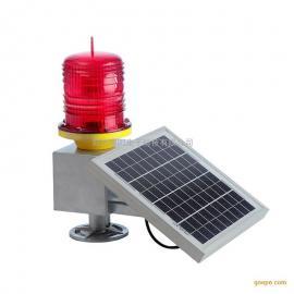 赛阳品牌太阳能中光强航空障碍灯 LED航空警示灯 太阳能航标灯