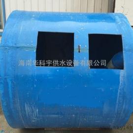 澄迈2立方玻璃钢隔油池