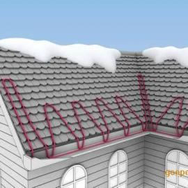 屋檐天沟发热电缆融雪系统消除屋顶积雪潜在危险