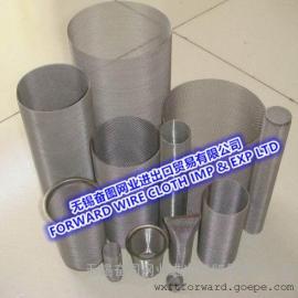 不锈钢过滤网筒 空气/汽油过滤器 可订制