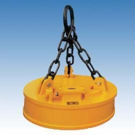 废钢电磁吸盘MW5-130L/1起重电磁铁直径1.3米
