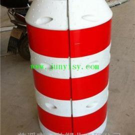 电线防撞墩定做批发 滚塑电杆防撞桶