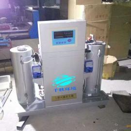 千秋医院污水处理设备安装现场