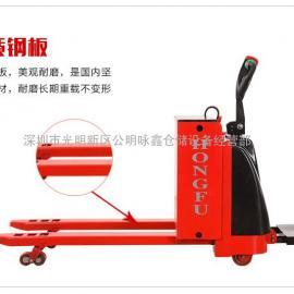 D2001型全电动自走式拖板鸿福叉车