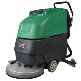 常熟 商场、工厂保洁用手推式洗地机厂家直销 洗地机LC19A手推式&