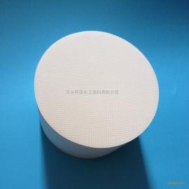 环亚堇青石Φ190*152.4mm蜂窝陶瓷催化剂载体