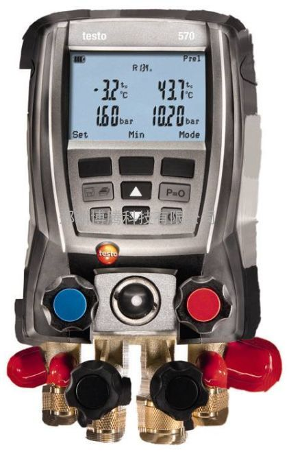 testo 570-1套装 电子歧管仪