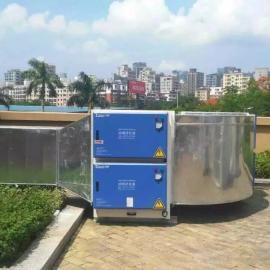 云南曲靖油烟净化器,98%净化率,低空排放,100%过检测