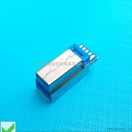 USB 3.0 B公-焊线式加长公头(有缝款)二维PDF图