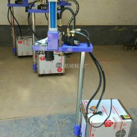 立式液压�烙面机