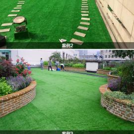 楼顶人造草坪,室内人工草坪,展厅塑料草皮 休闲景观假草