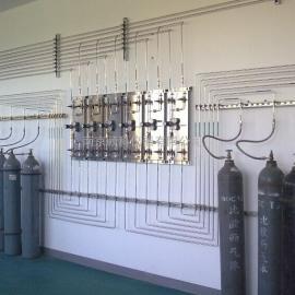 大学实验室气路改造安装