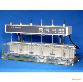 智能溶出度测试仪 RC-6 六杯六杆 智能化控制 手动翻转