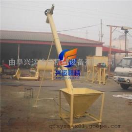 倾斜/垂直式螺旋提升机厂家 定做不锈钢螺旋绞龙上料机