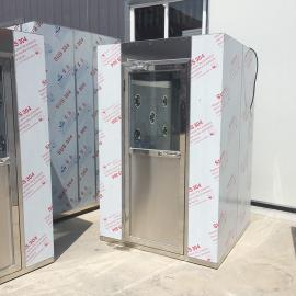 维斯特电子互锁不锈钢风淋室双人双吹风淋室