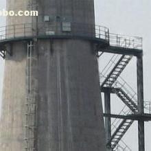 烟囱爬梯护网安装