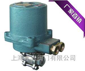 上海水兴MKGQ矿用高压小口径电动球阀价格
